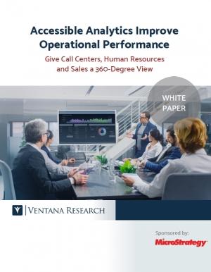 Livre blanc : l'analytics accessible pour am�liorer les performances op�rationnelles