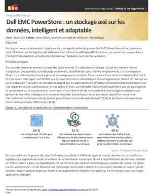 Les avantages de la solution intelligente de stockage Dell EMC PowerStore