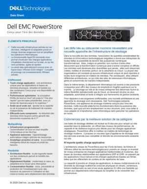 Optimiser la gestion de ses données à l'aide de Dell EMC PowerStore