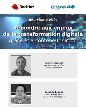 Interview d'experts : les enjeux de la conteneurisation