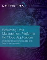 Evaluer les plateformes de Data Management pour vos Applications Cloud