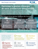 Optimisez en 5 points la gestion de l'alimentation de votre architecture informatique