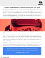 Ubisoft se lance sur le Web avec Google App Engine et Google Cloud Storage