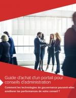 Guide d'achat d'un portail pour conseil d'administration