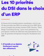 Les 10 priorités des DSI dans le choix d'un ERP
