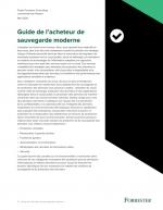 Le guide de l'acheteur de sauvegarde moderne (commercial)