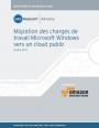 Migration des applications Microsoft Windows vers un cloud public