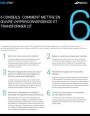 6 conseils pour réussir le déploiement d'une infrastructure hyperconvergée