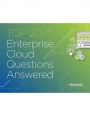 Le top 20 des questions/réponses sur le cloud d'entreprise