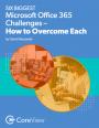 Les 6 plus grand challenges d'Office 365 et comment les surmonter