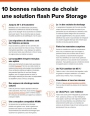 10 bonnes raisons de choisir une solution Flash Pure Storage
