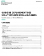 Comment déployer les solutions HPE SMALL BUSINESS ?