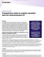 Transparence totale et contrôle centralisé dans les environnements OT