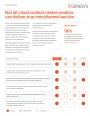 Comparatif mondial des éditeurs de centres de contact
