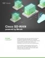 Aperçu du SD-WAN de Cisco par Meraki