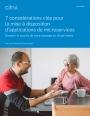 Livre Blanc : 7 points cl�s pour garantir le succ�s de votre passage au cloud-native