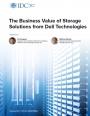 Cr�er de la valeur avec les solutions de stockage Dell Technologies