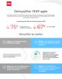 Infographie : D�mystifier l'ERP agile