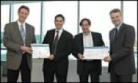 Scriba remporte le trophée Excellence 2005 de HP et Microsoft