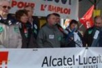 Les salariés d'Alcatel Lucent de nouveau mobilisés