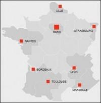 Basé à Paris, ESR possède 7 agences en France
