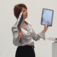 Pascale Dumas, vice-présidente de HP France et directrice générale la division impression et systèmes personnels . Crédit: HP France