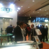 Sage Expo 2012, le 23 octobre 2012 au CNIT de la Défense