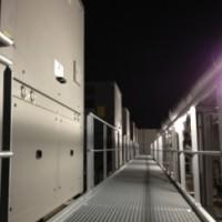 Interxion 7, le nouveau datacenter de la Courneuve (photo LMI)