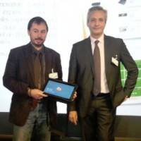 Photo : Patrick Perret, Directeur des études informatiques (à droite), et Emmanuel Gabet, chef de projet (à gauche), de Boulanger. (crédit : B.L.)