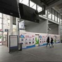 5 murs virtuels dans des gares pour acheter avec rueducommerce