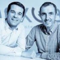 Gilles Fabre dg, à gauche et Gilles Ridel (fondateur) de Nexway