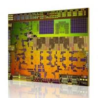 Le coeur d'une puce AMD Kabini destinée aux tablettes.