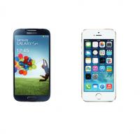 Free Mobile propose à la location le Galaxy S4 ou l'iPhone 5S à 12 euros par mois pendant 2 ans. Crédit Photo: D.R