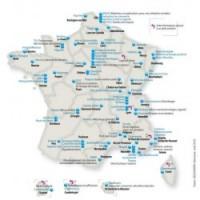 La France compte 71 pôles de compétitivité. (cliquer sur l'image pour l'agrandir)