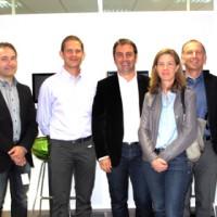 La Mêlée Adour a été fondée, par Emmanuel Dubié, Directeur de Crescendo, Franck Michaux, fondateur de Map Your Dream et Christophe Blazquez, formateur (2ème, 3ème et 4ème en partant de la gauche).