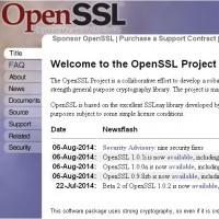 Plusieurs mises à jour ont été livrées cette semaine pour OpenSSL 1.0.1i, 1.0.0n et 0.9.8zb.