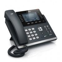 Le téléphone SIP-T46G offre un écran d'affichage plat couleur à haute résolution