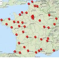 Free dispose à l'heure actuelle d'un réseau de 42 boutique en France