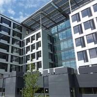 Des PC ont été saisis et des bureaux placés sous scellés sur le site de Steria à Meudon-la-Forêt. (ci-dessus / crédit : D.R.)