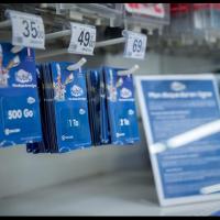 Auchan commercialise trois forfaits hubiC payants alors qu'OVH n'en propose que deux sur son site web.