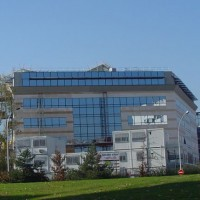 Le centre de recherche d'Alcatel-Lucent à Vélizy-Villacoublay. Crédit: D.R