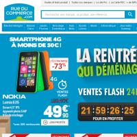 L'e-commerçant Rueducommerce.com va se renforcer en passant dans le giron de Carrefour, doté d'un réseau de 5680 magasins physiques à travers la France.