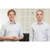 François Poulet (à gauche) et Nicolas Beslin, les co-fondateurs de Novatim. Crédit photo : D.R.