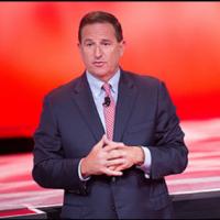 Mark Hurd, CEO d'Oracle, estime que l'activité SaaS/PaaS va croître de 50% sur le trimestre en cours. (crédit : D.R.)