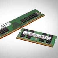 Les nouvelles mémoires DDR4 de Samsung seraient 30 % plus rapides et moins énergivores que  leur prédécesseurs gravés en 20 nanomètres. Crédit photo : D.R.