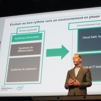 Xavier Poisson, vice président EMEA responsable de la division Hybrid IT de Hewlett-Packard Entreprise, le 31 mai à Paris. (crédit : LMI)