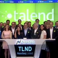 L'action de l'éditeur français Talend, introduite à 18 $ au Nasdaq vendredi 29 juillet 2016, a été cotée à 27,66 $ dès l'ouverture du marché. (crédit : D.R.)