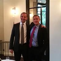 Christian Hiller, président d'EMC France (à droite), prendra en binôme la direction de Dell-EMC le 1er février 2017. Anwar Dahab (à gauche) retourne à l'Europe en charge de l'activité PC. (Crédit SL)