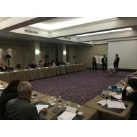 Des CCS réunis lors d'une des réunions organisées au sein de la convention Sagesse. (Crédit photo : D.R.)