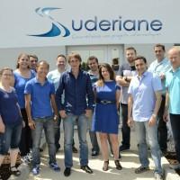 L'équipe de Suderiane. Au centre, Aurelia Lefevre, sa présidente.